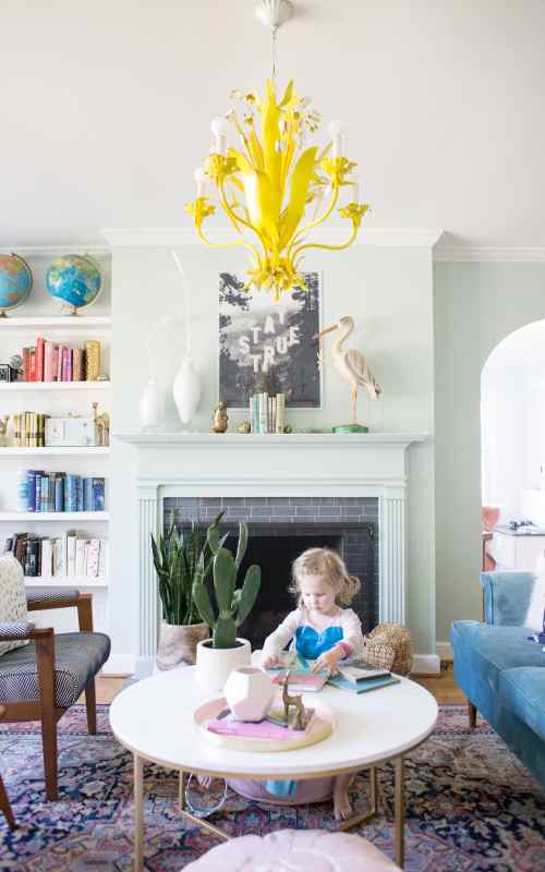 A Living Room Spring Refresh with Ebay