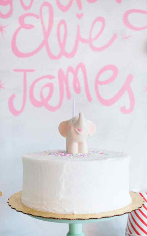 simple and sweet first birthday party