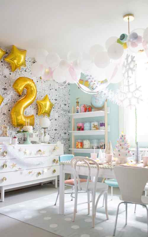 Easy Golden Birthday Party Ideas