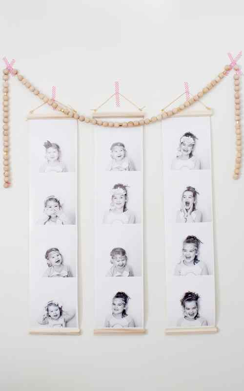 DIY photobooth prints