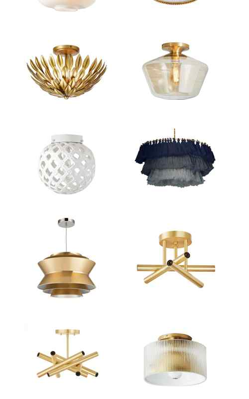 Affordable and Cute Flush Mount Lights for Kid Rooms