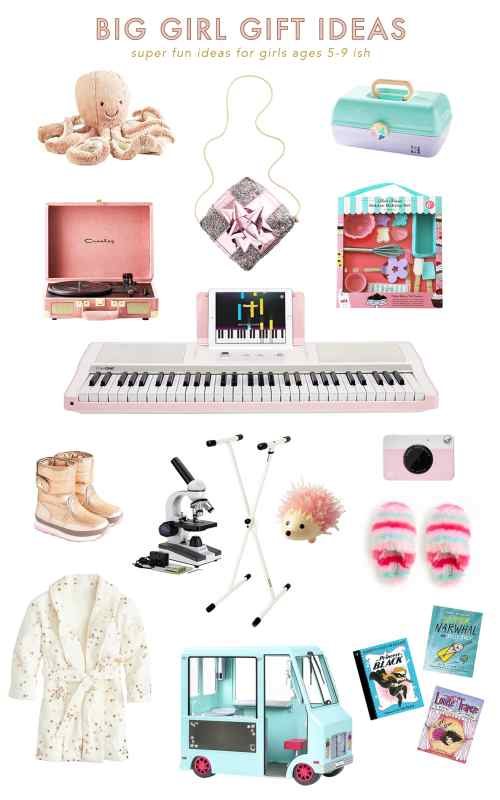 Christmas Gift Ideas for Big Girls (ages 5 - 9)