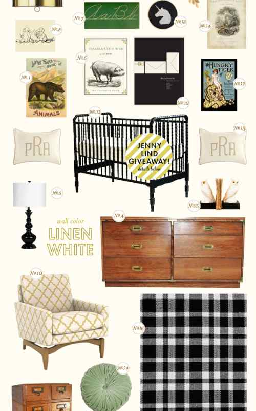Library Chic Nursery Inspiration