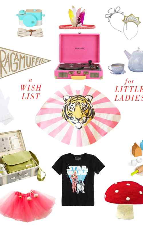 a wish list for little ladies