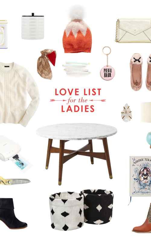 love list for the ladies