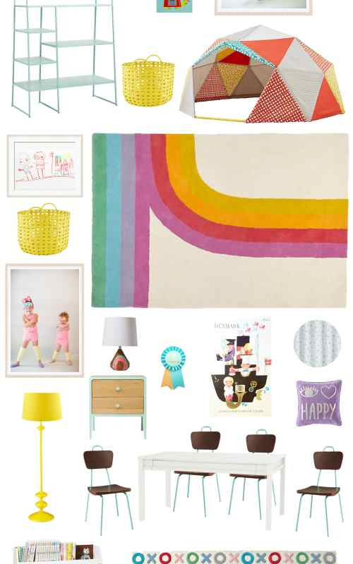 girls' playroom update