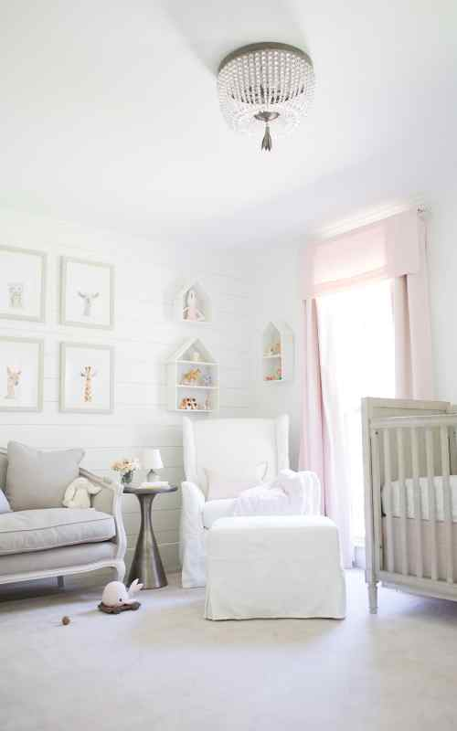 how to install shiplap in a baby room