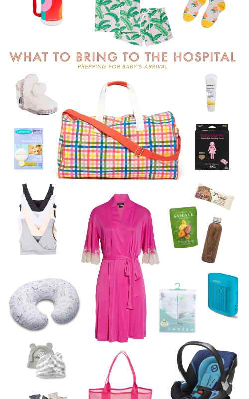 What to Pack in Your Hospital Bag for Baby's Arrival