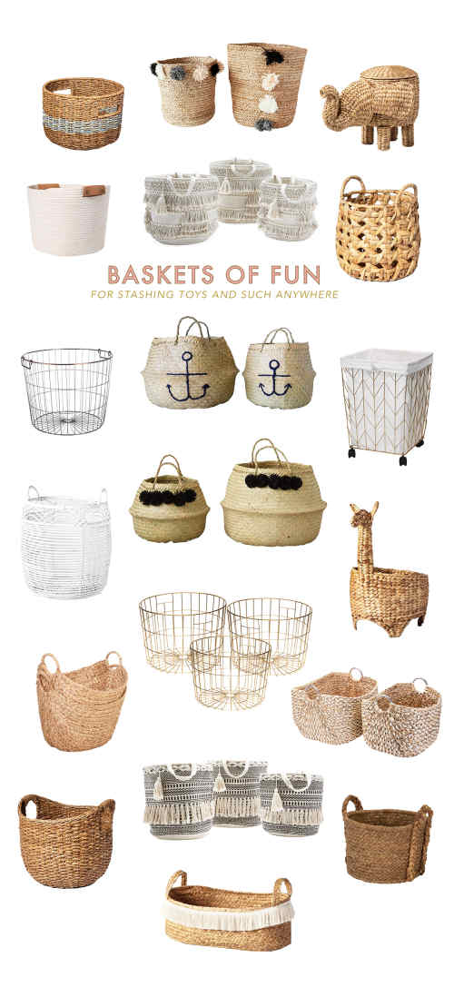 Cute and Affordable Basket Roudup