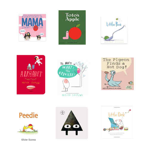 Favorite Books from Baby to Big Kid