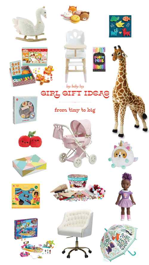 Christmas 2020 Girls' Gift Guide - for little girls and big girls!