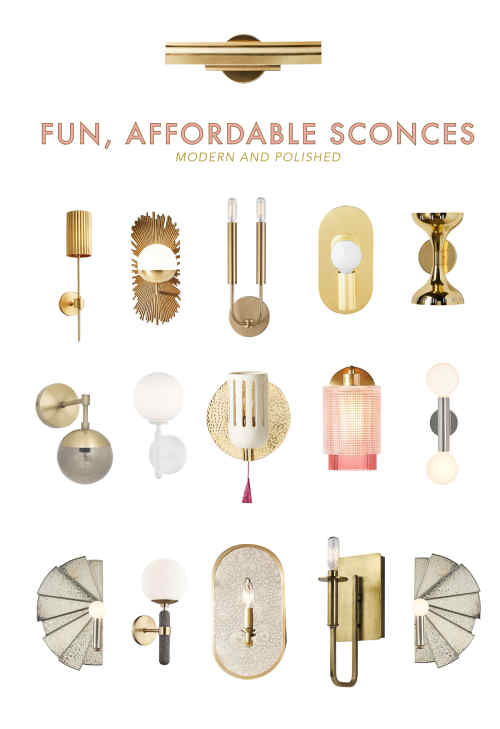 Modern and Affordable Wall Sconces