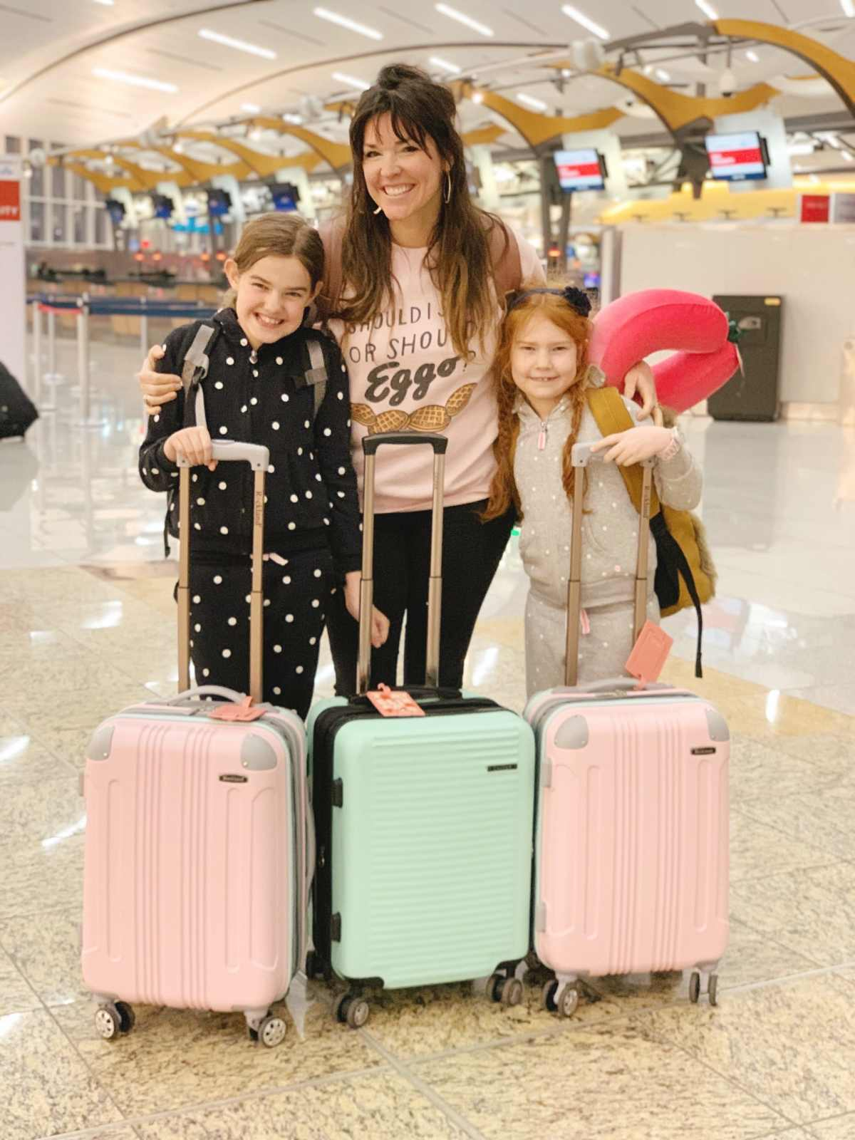 Tips for long plane rides with kids