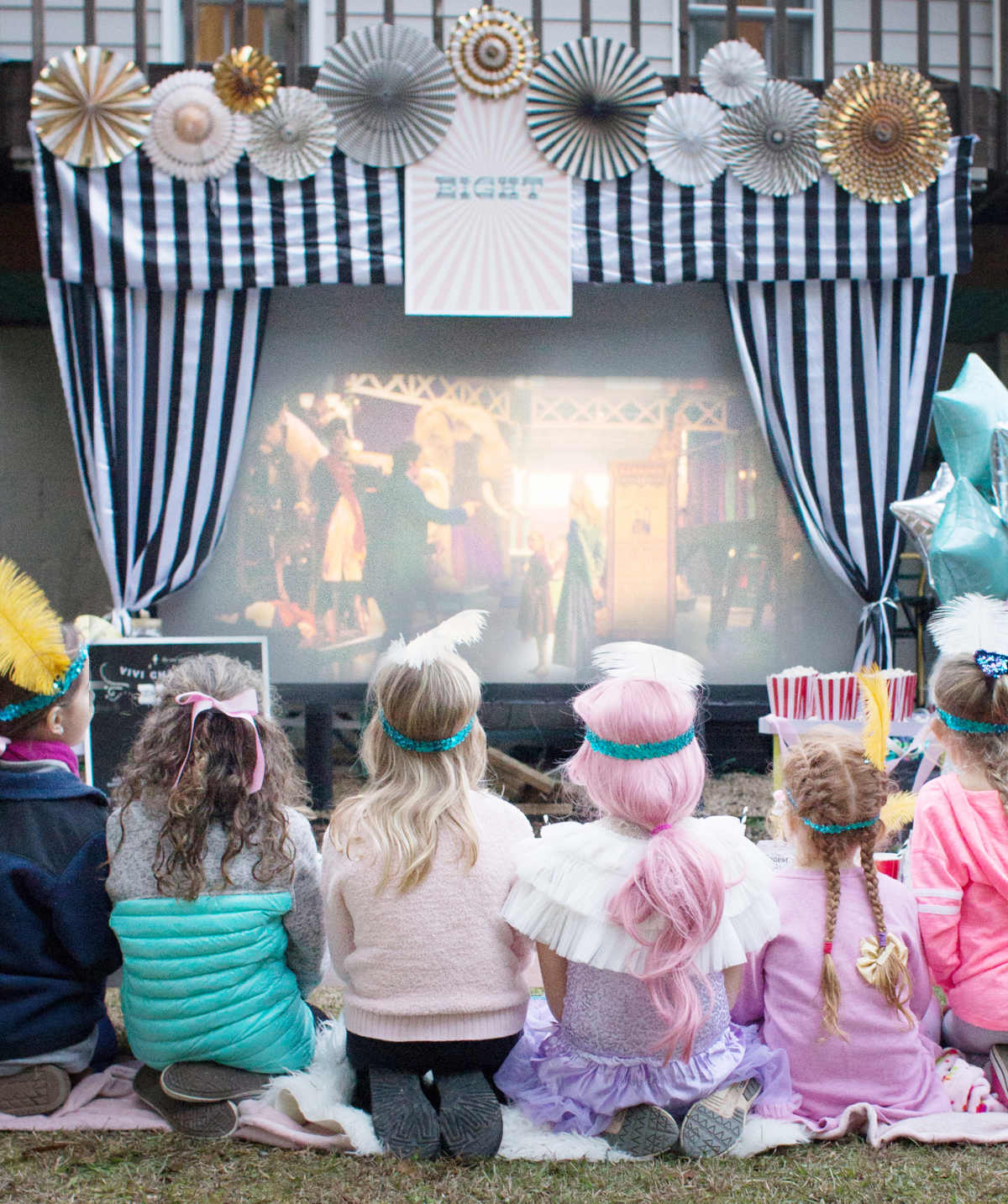 greatest showman birthday party ideas for a girl