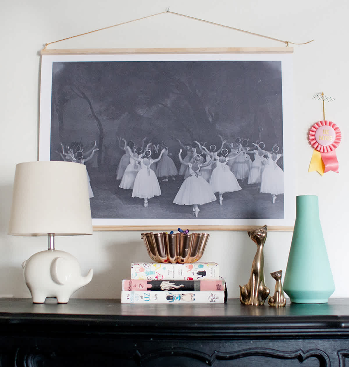 dIY children's room art