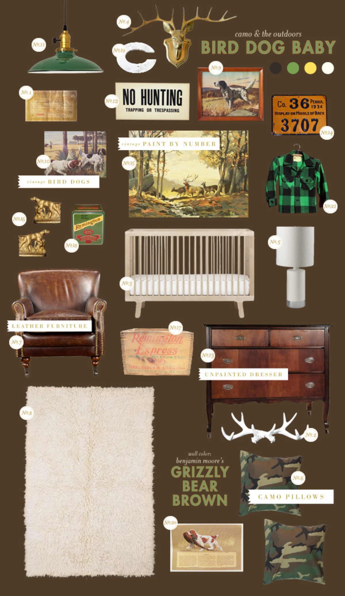 hunting camo baby room ideas