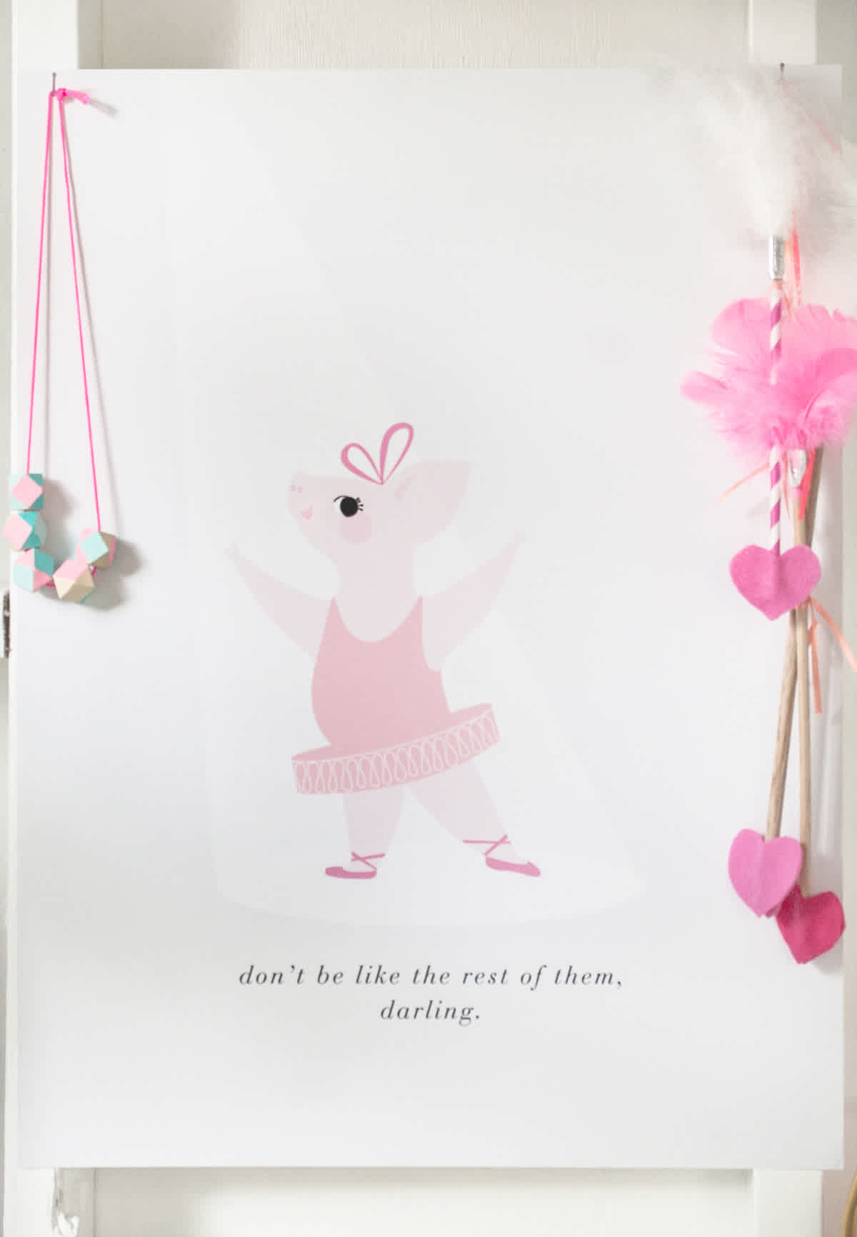 ballerina pig