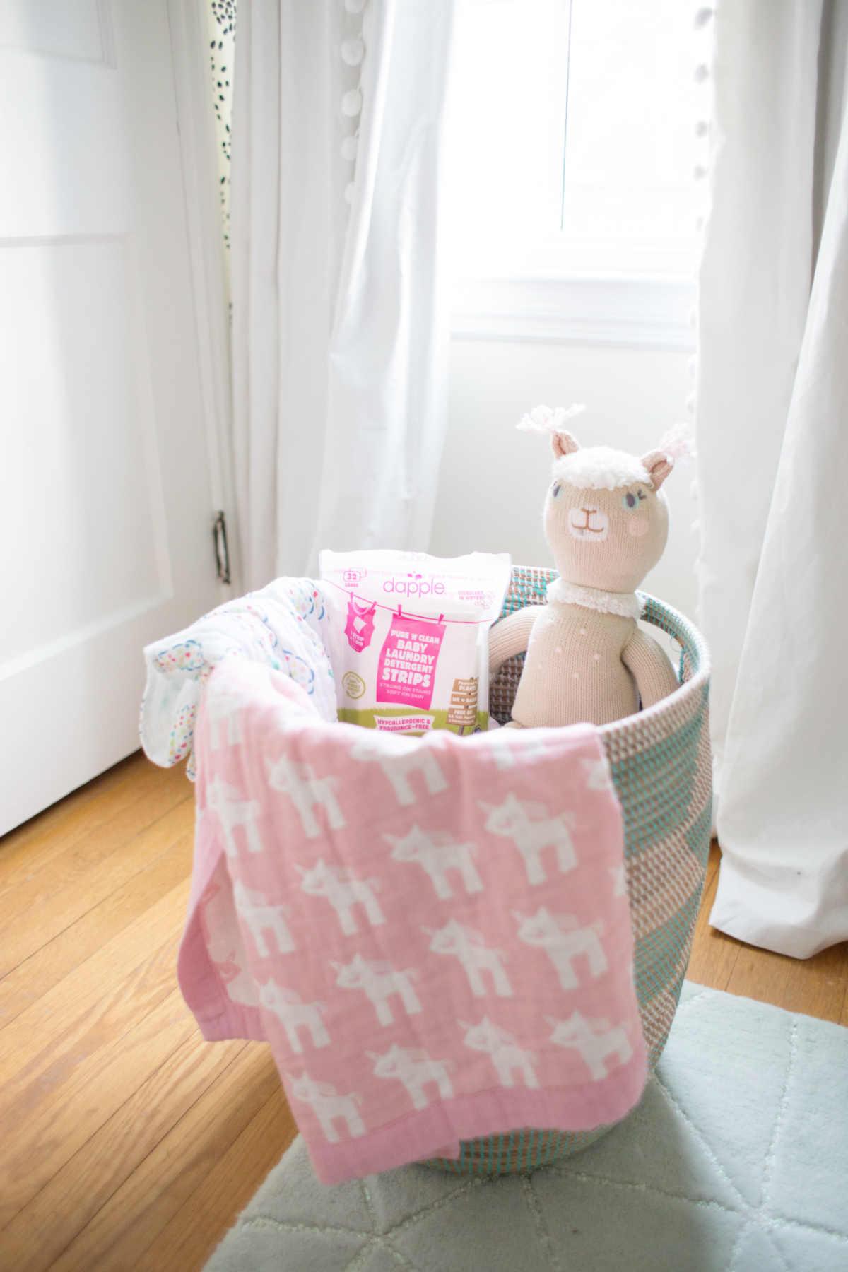 Doing Baby Laundry With Dapple Baby Lay Baby Lay