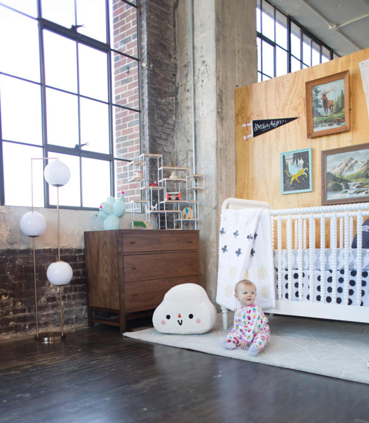 land of nod + lay baby lay nursery giveaway