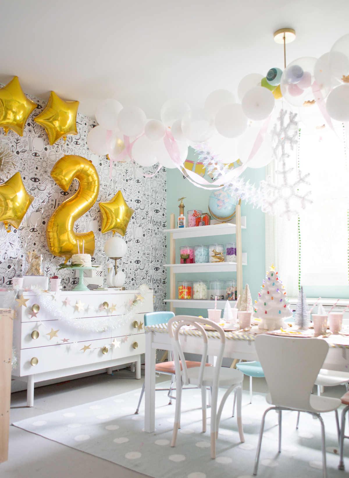 simple golden birthday ideas