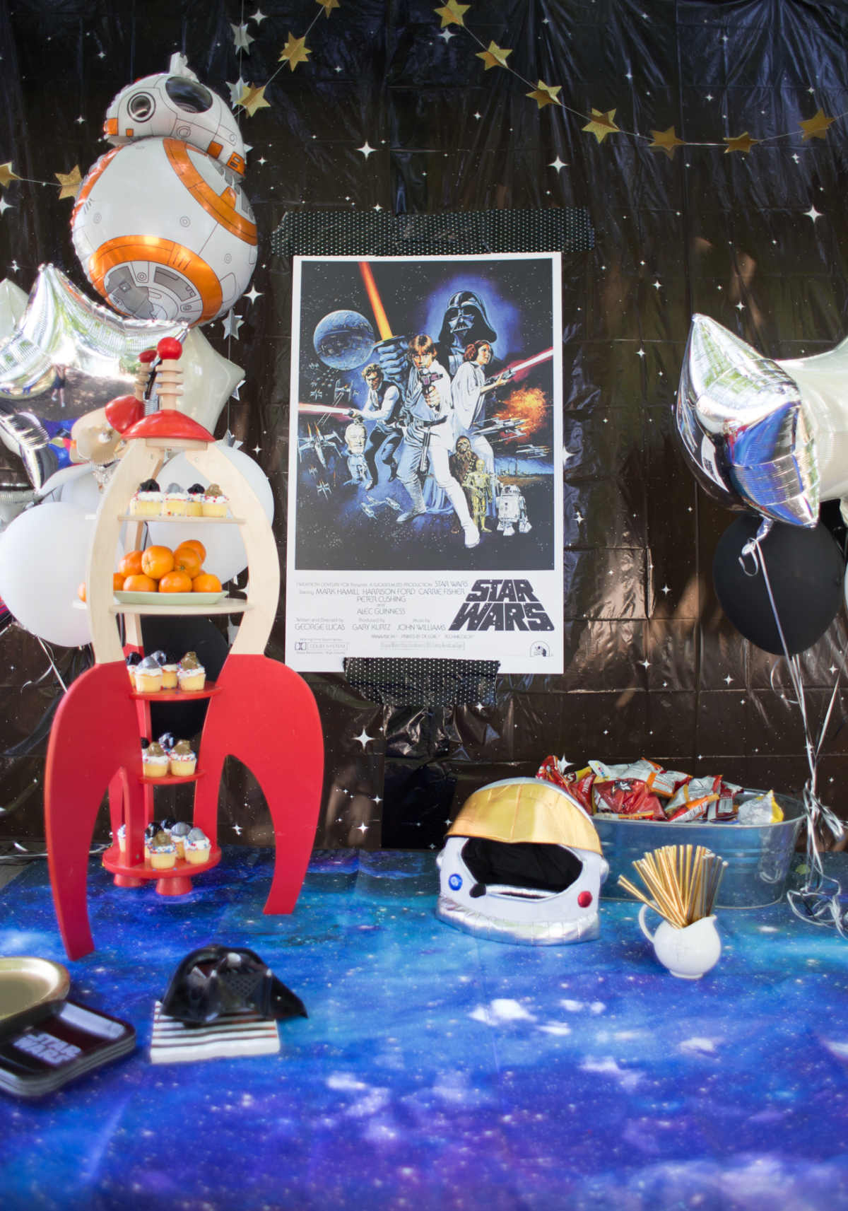 how to throw a simple star wars party
