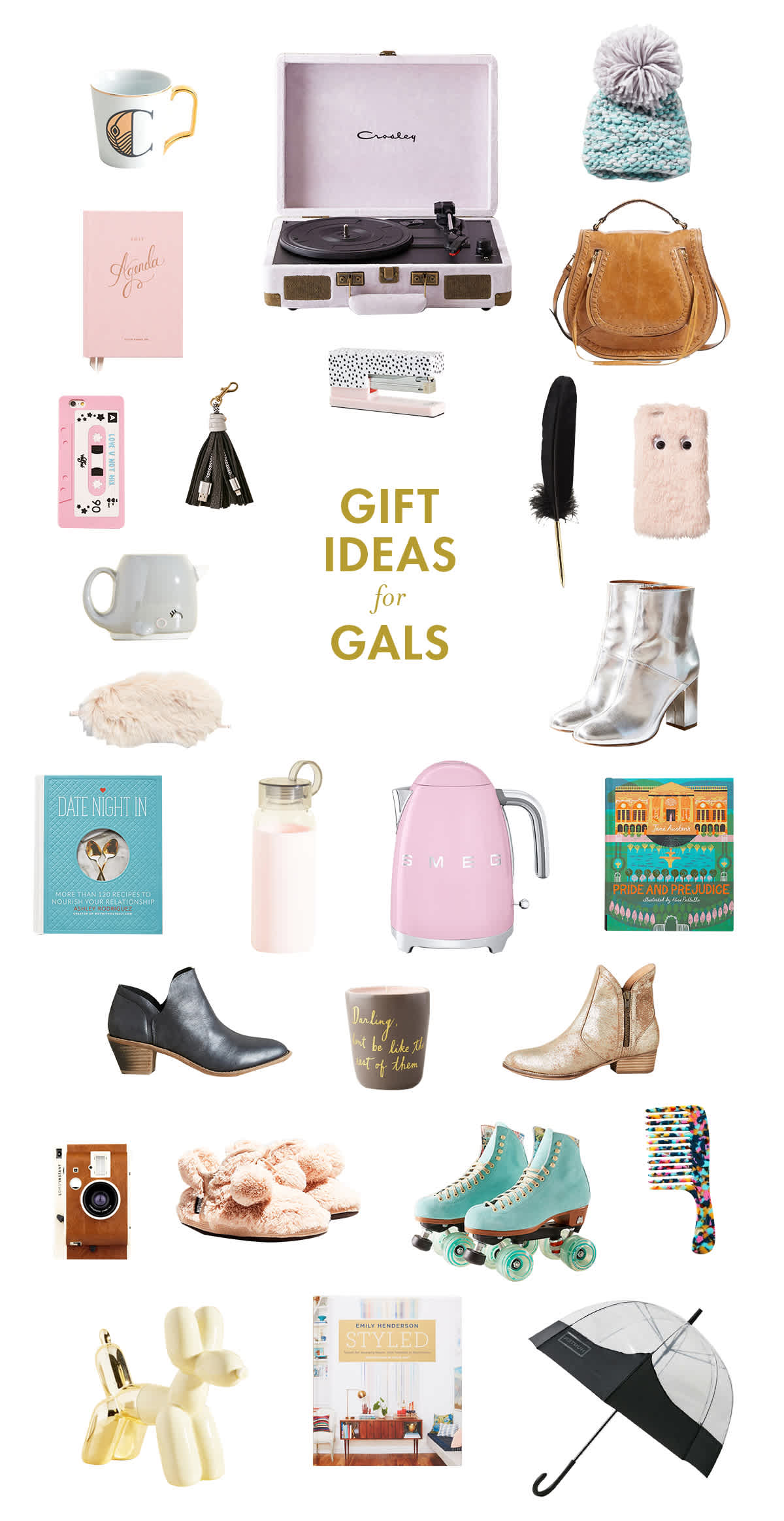 christmas gift guide for gals