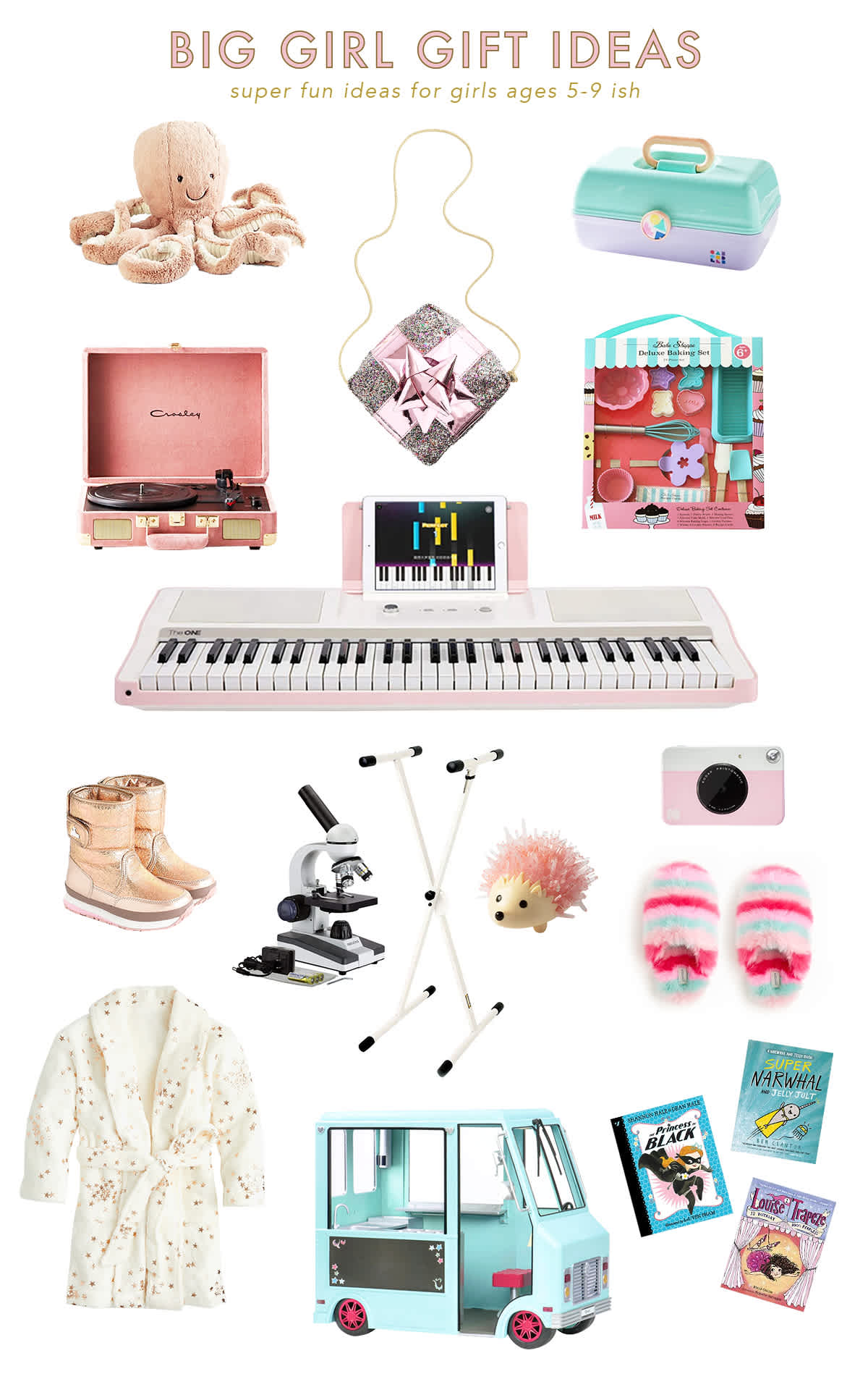 holiday gift ideas for big girls