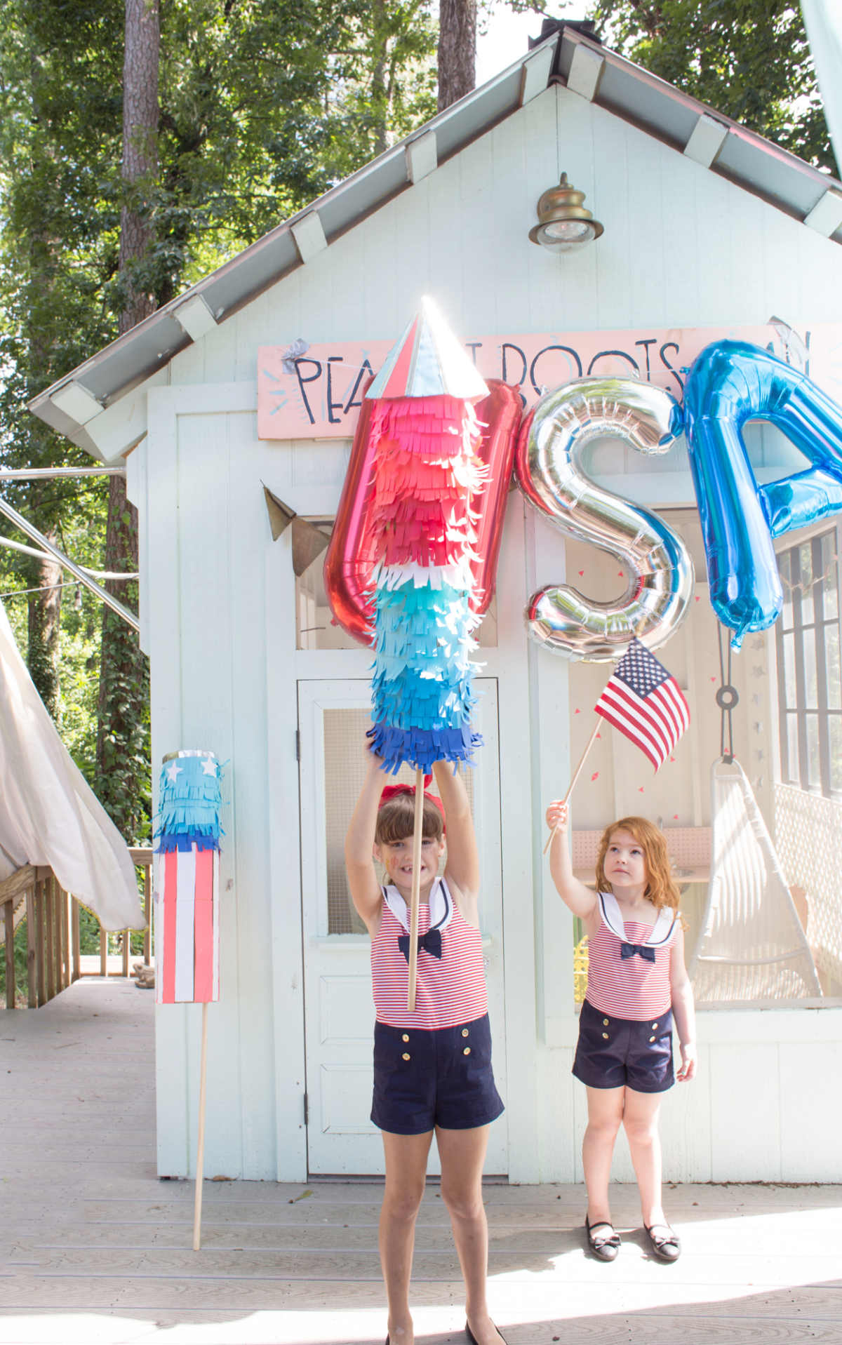 DIY fourth of july decor