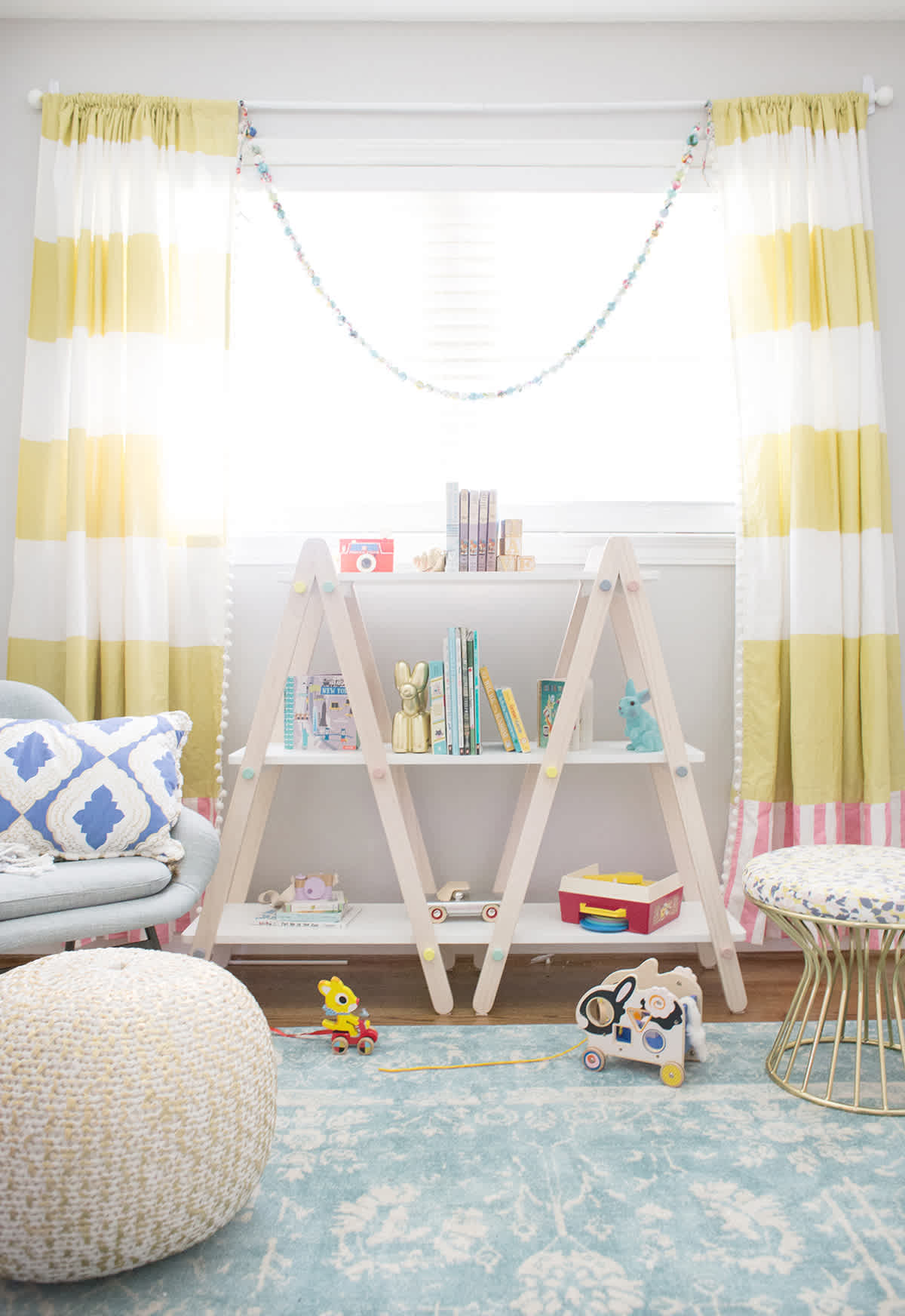Yellow And Gray Neutral Nursery Ideas