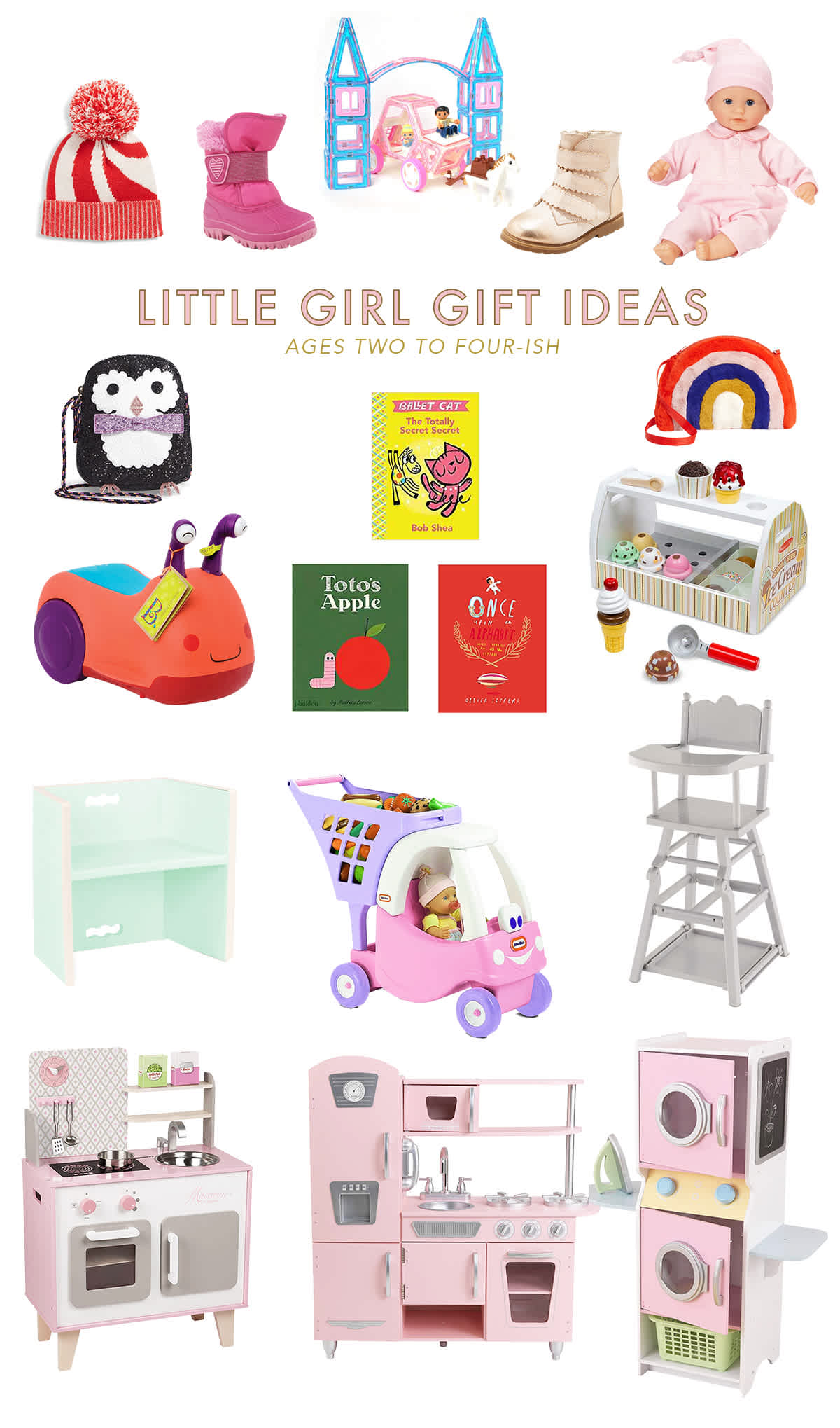 christmas gift ideas for little girls at toddler girls