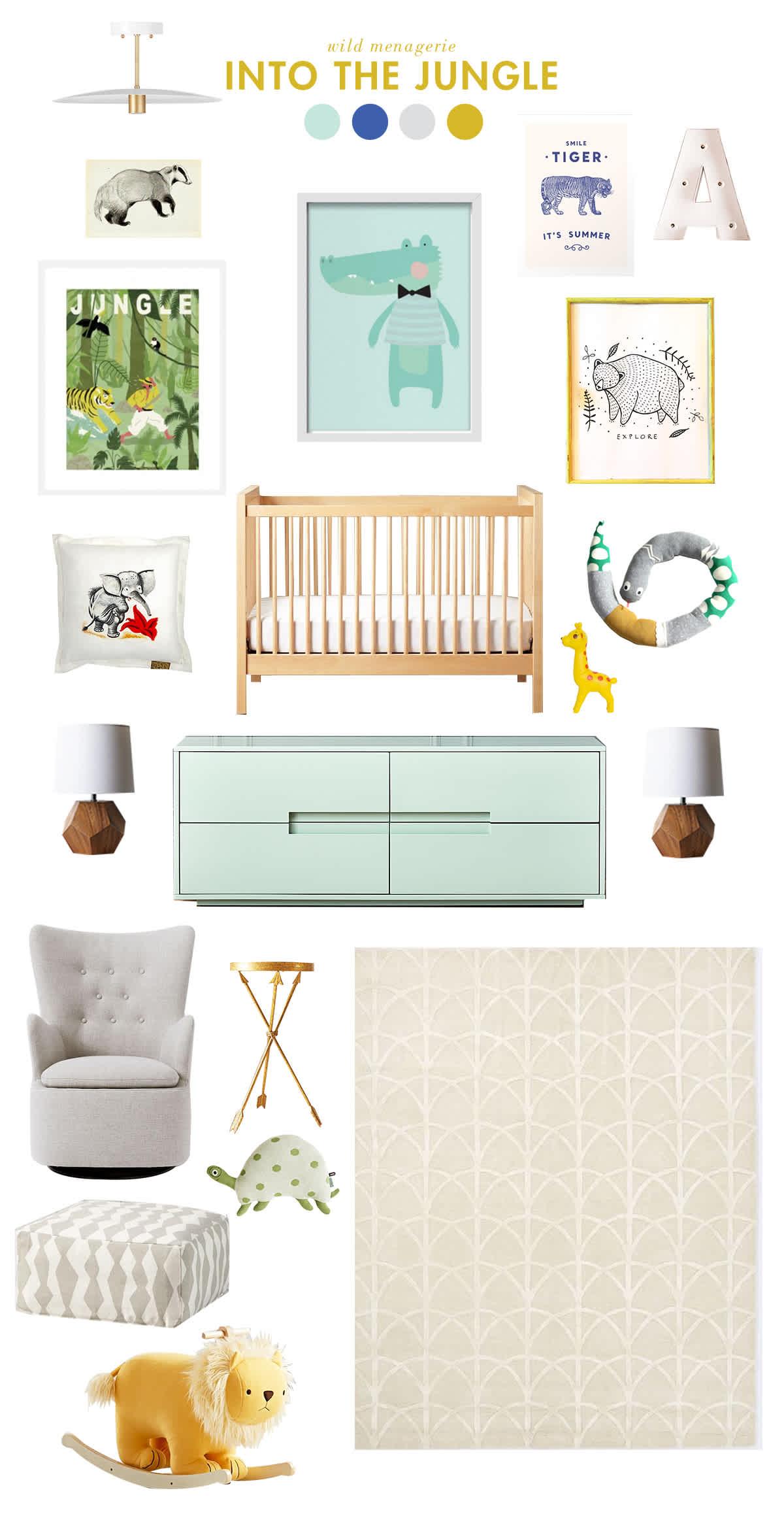 animal baby room ideas
