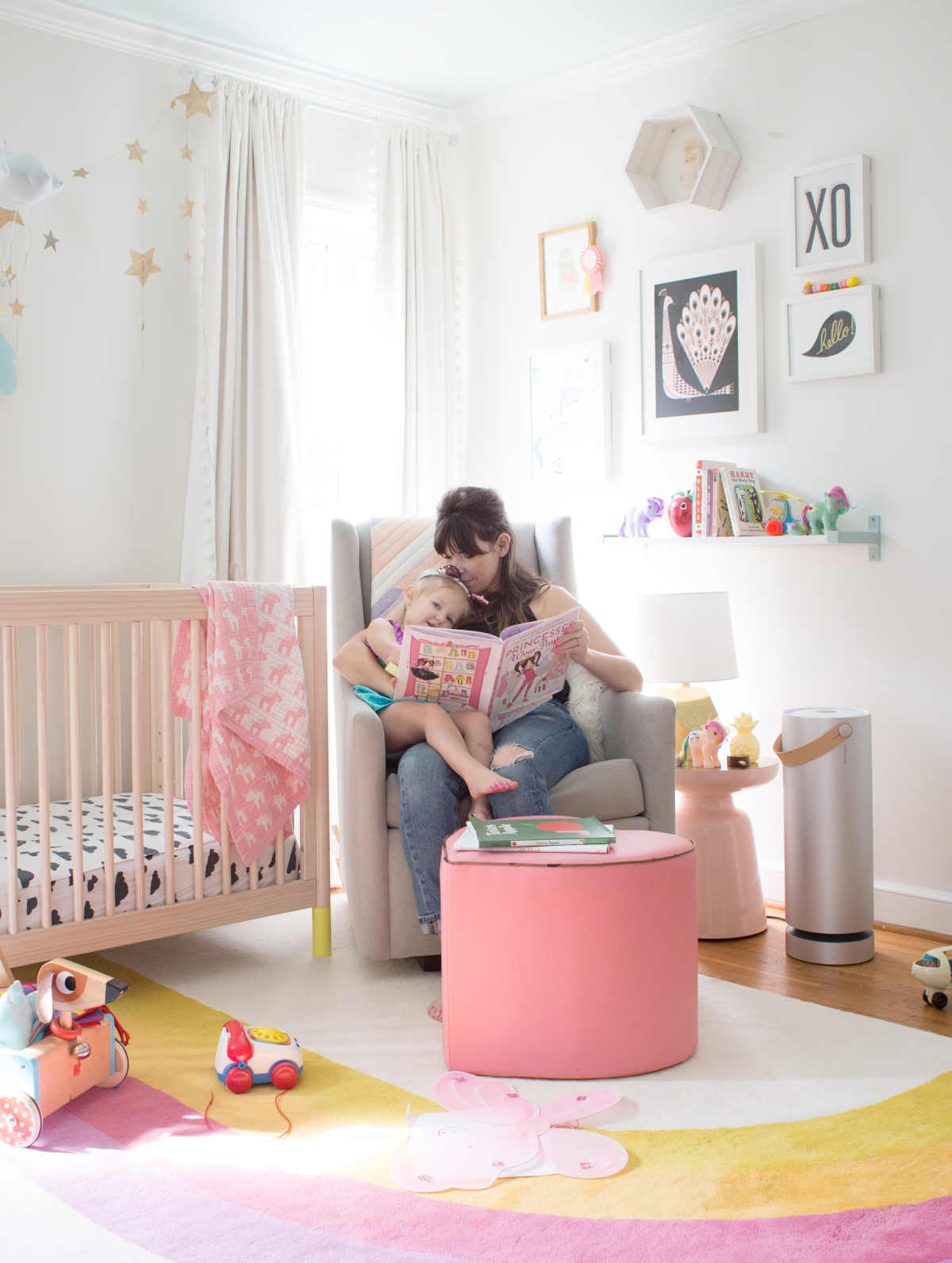 rainbow ideas for a kid room / allergy proofing your home