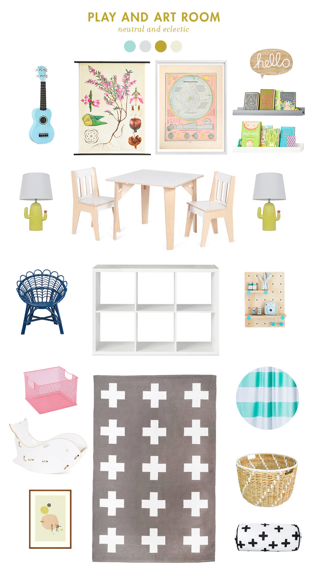 neutral playroom inspiration