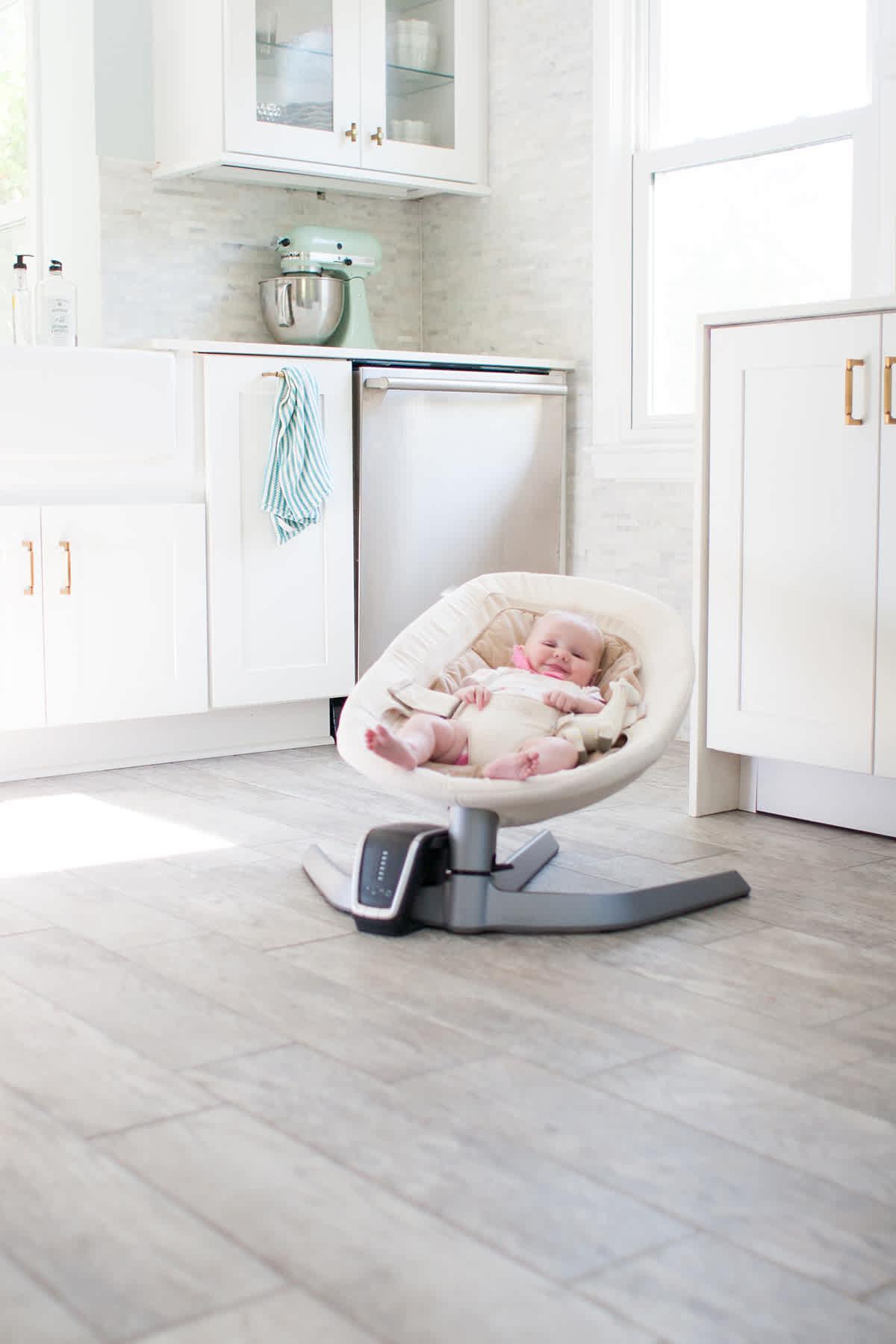 modern baby bouncer