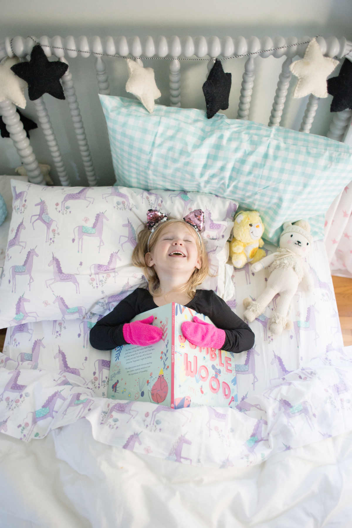 adorable kids' bedding