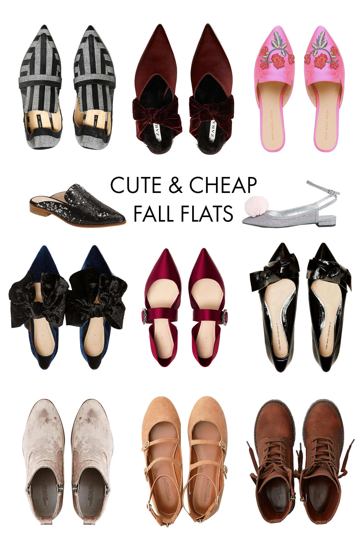 cute and inexpensive fall shoes