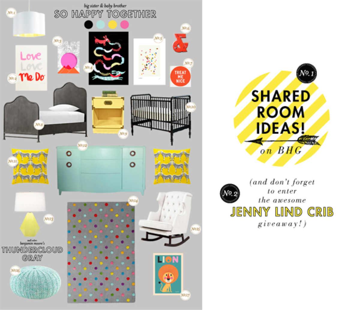 shared baby room ideas