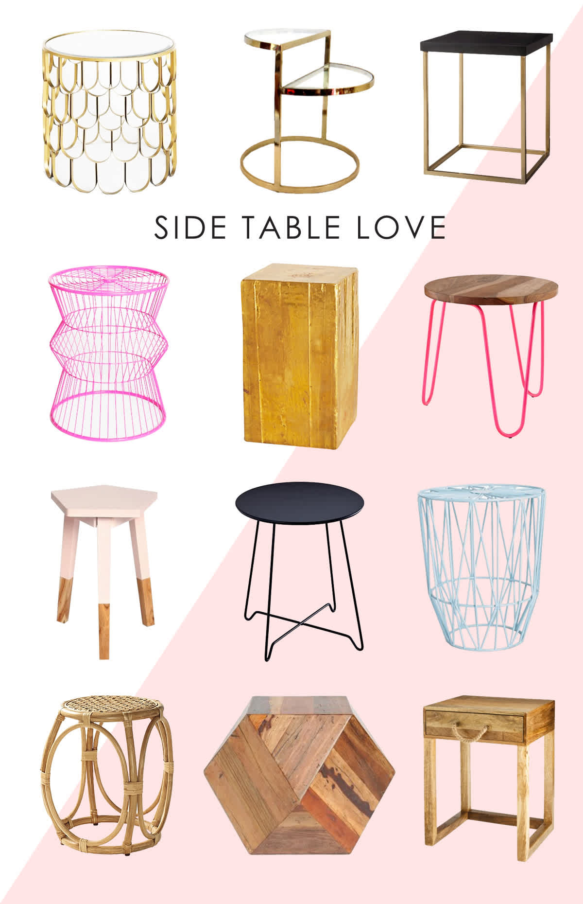 Marvelous Side Tables For The Nursery