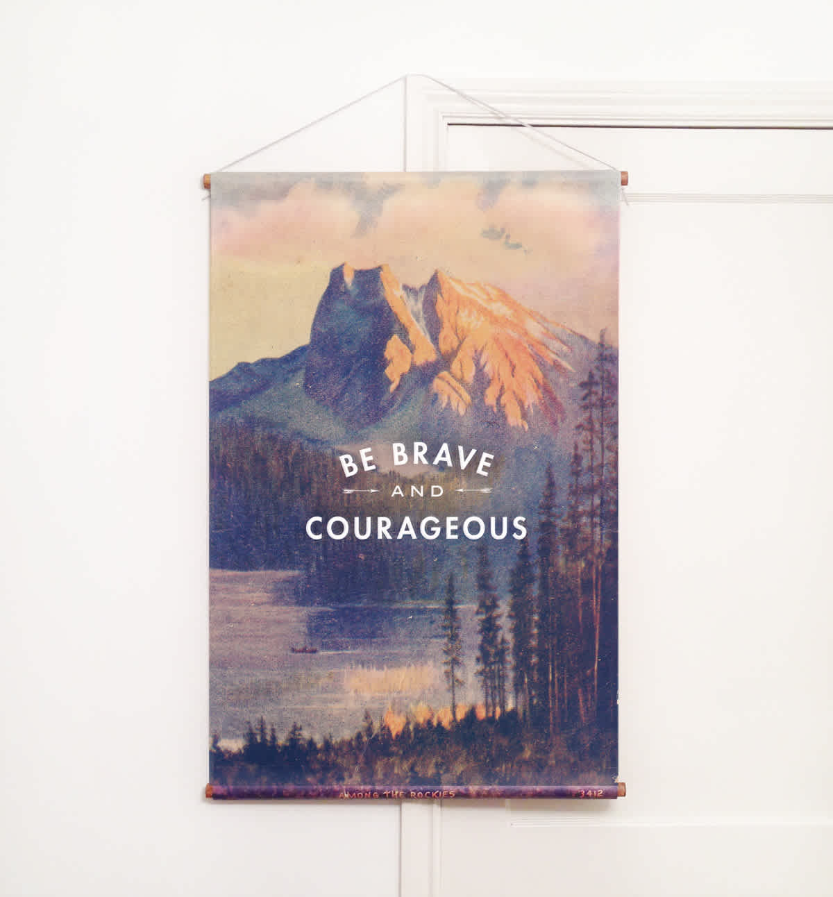 be brave wall hanging