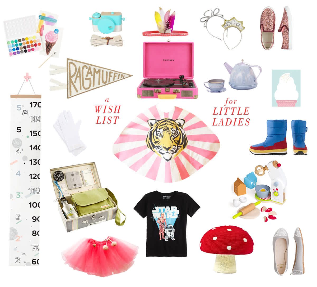 A Wish List For Little Ladies - Lay Baby Lay