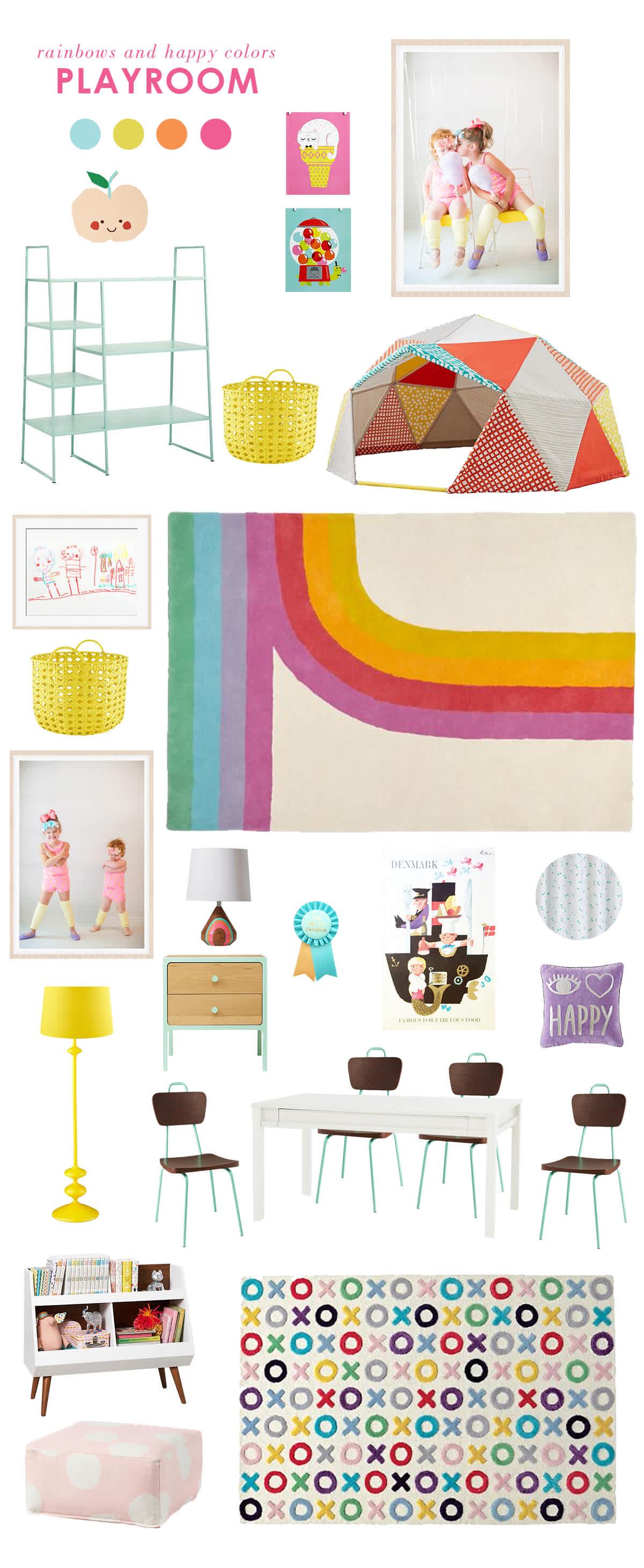 girls playroom inspiration