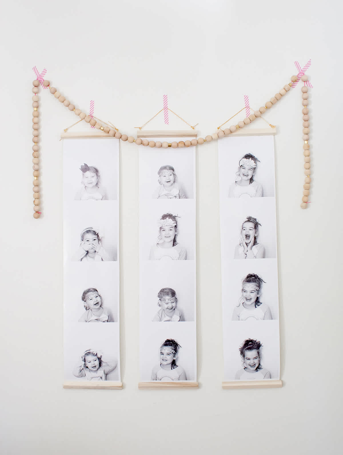diy photo booth prints
