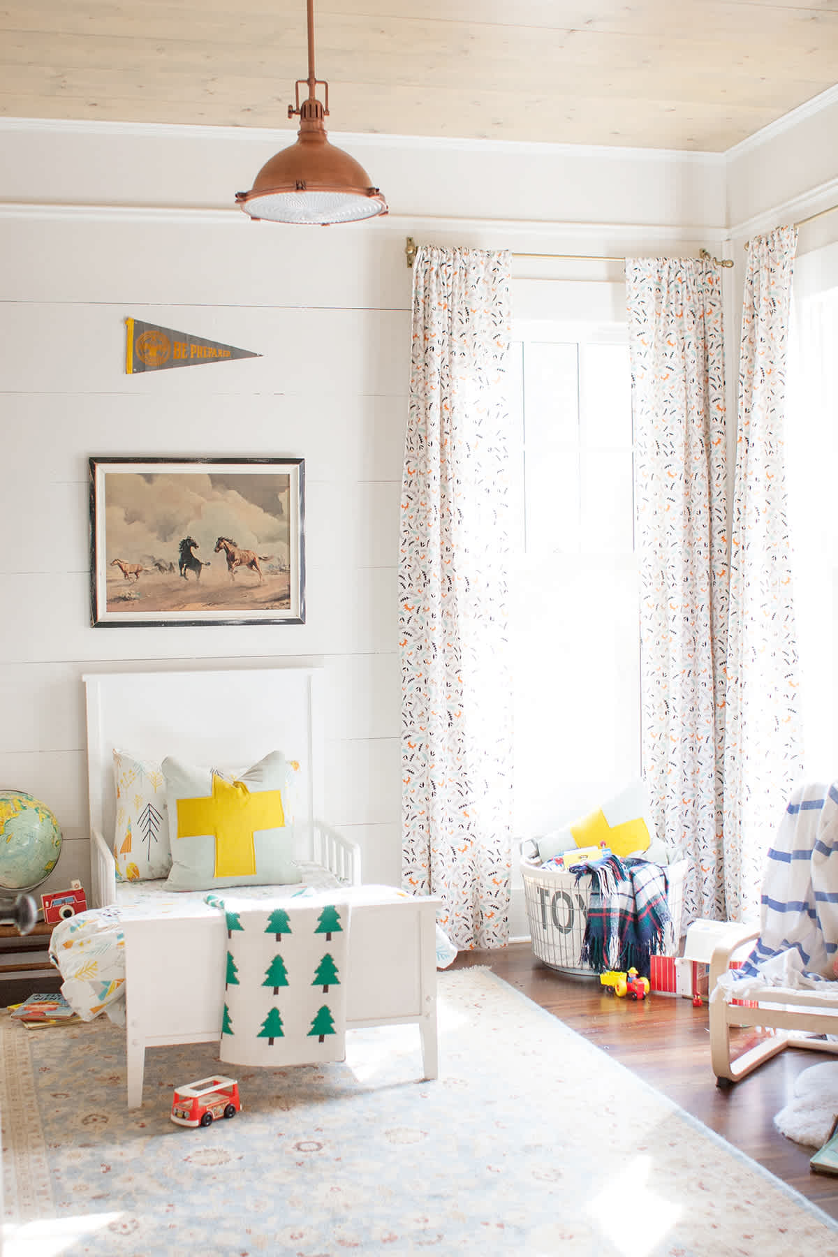 Bright And Rustic Little Boy Room - Lay Baby Lay