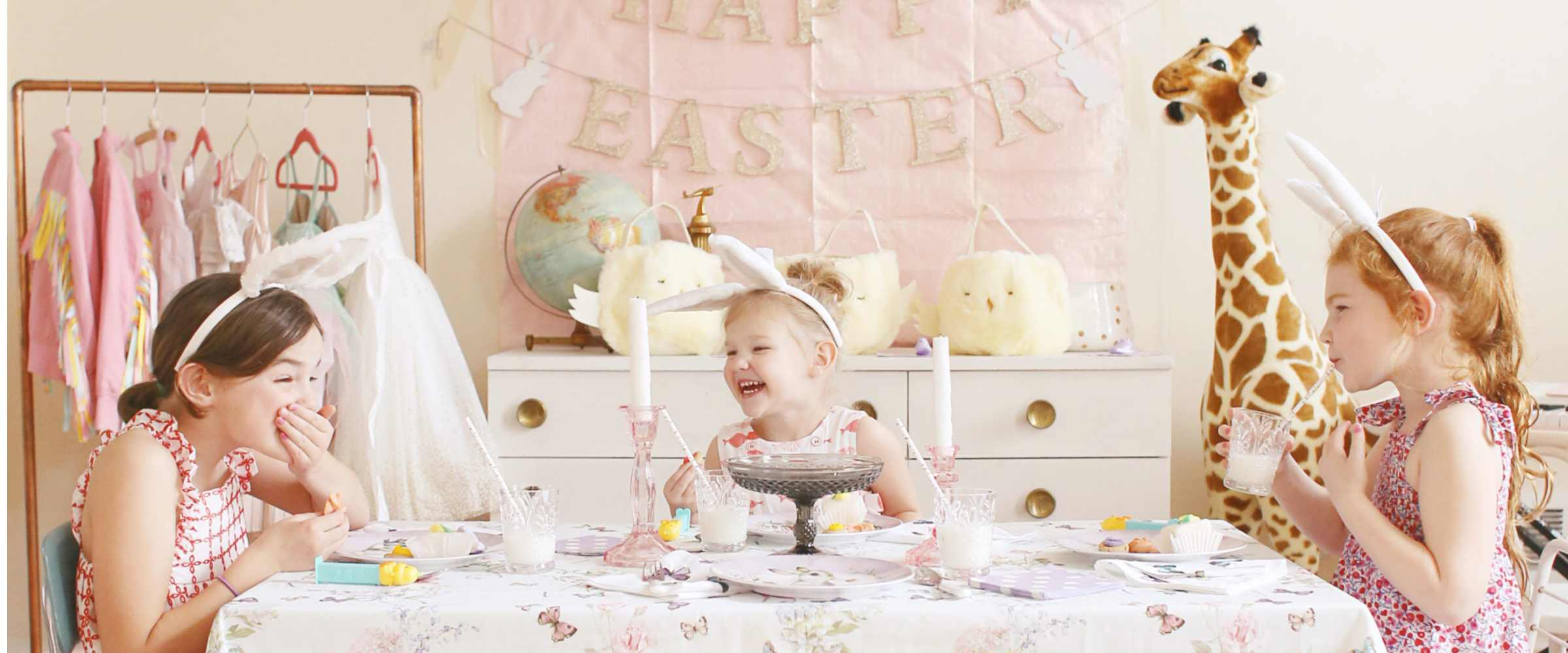 Easter Party Inspiration with Pottery Barn Kids