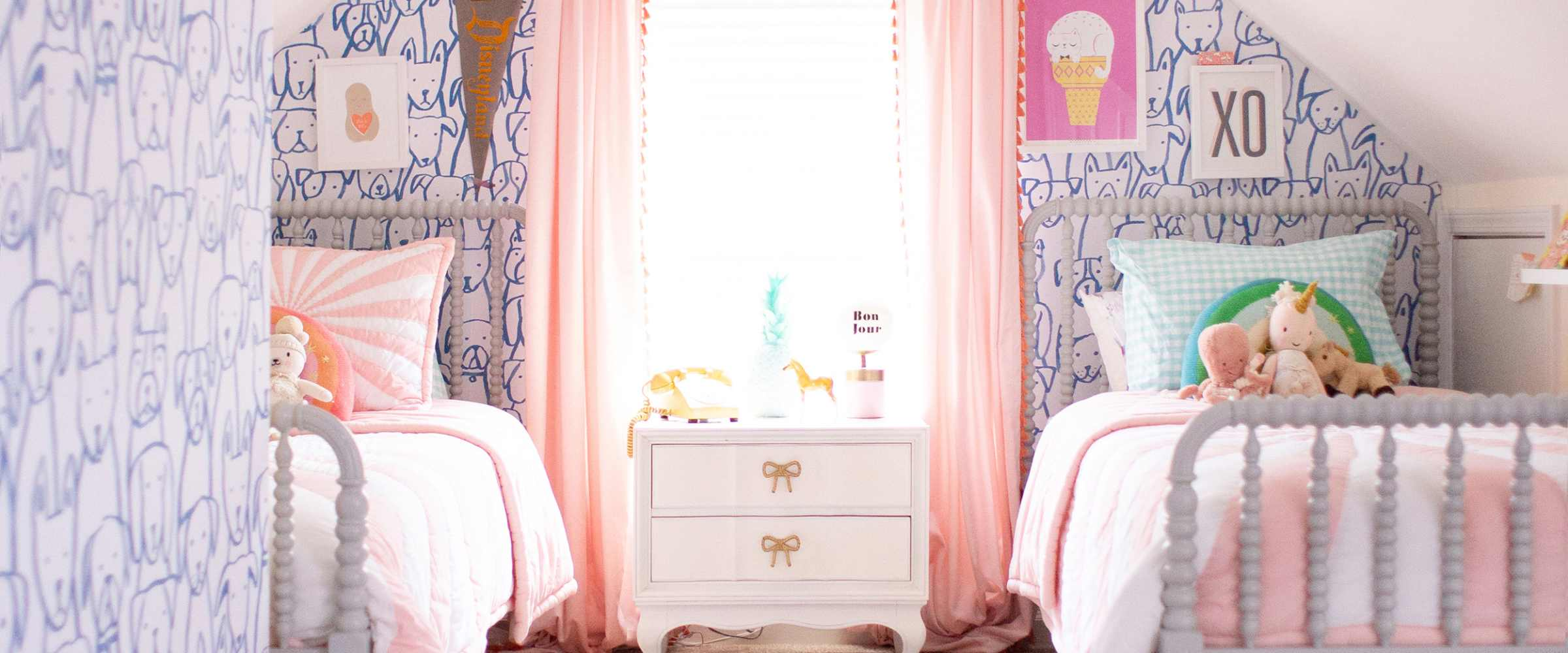 Shared Girls' Room Ideas