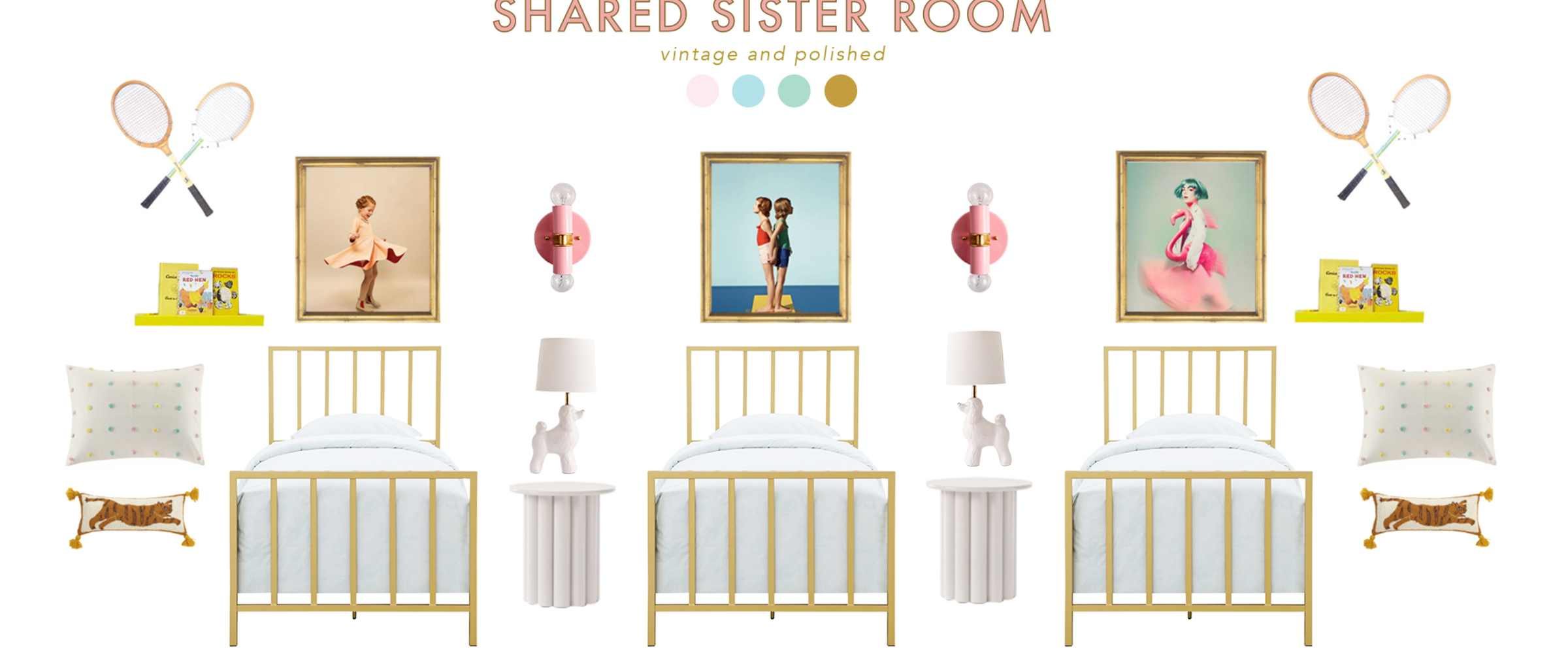 Plans for a Shared Room for three girls