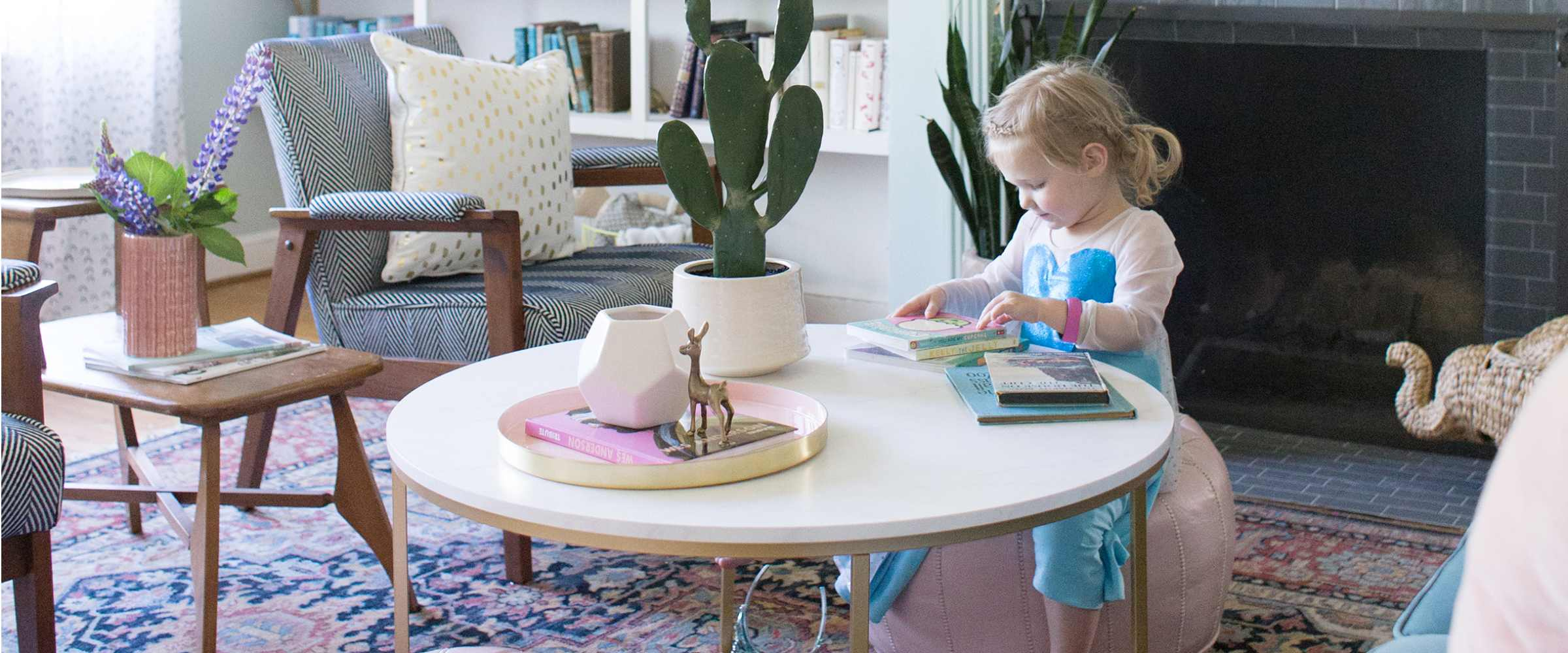 Living Room Ideas Ebay a living room spring refresh with ebay - lay baby lay