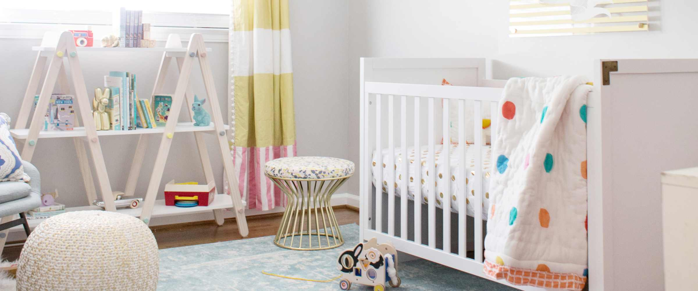 Yellow And Gray Neutral Nursery Ideas - Lay Baby Lay