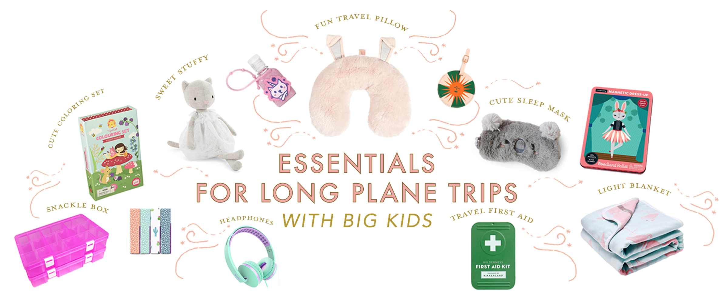 Essentials and Tips for Long Plane Trips with Big Kids