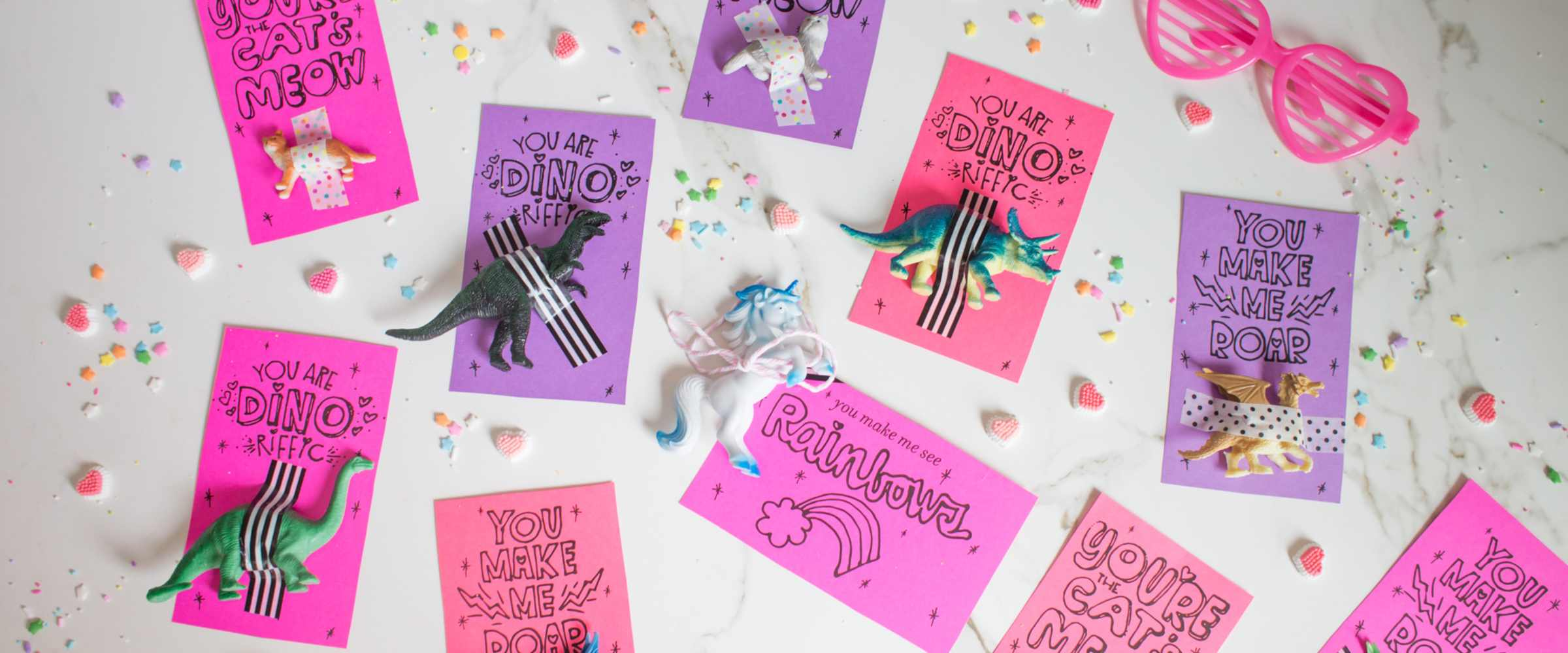 fun DIY valentine's without candy
